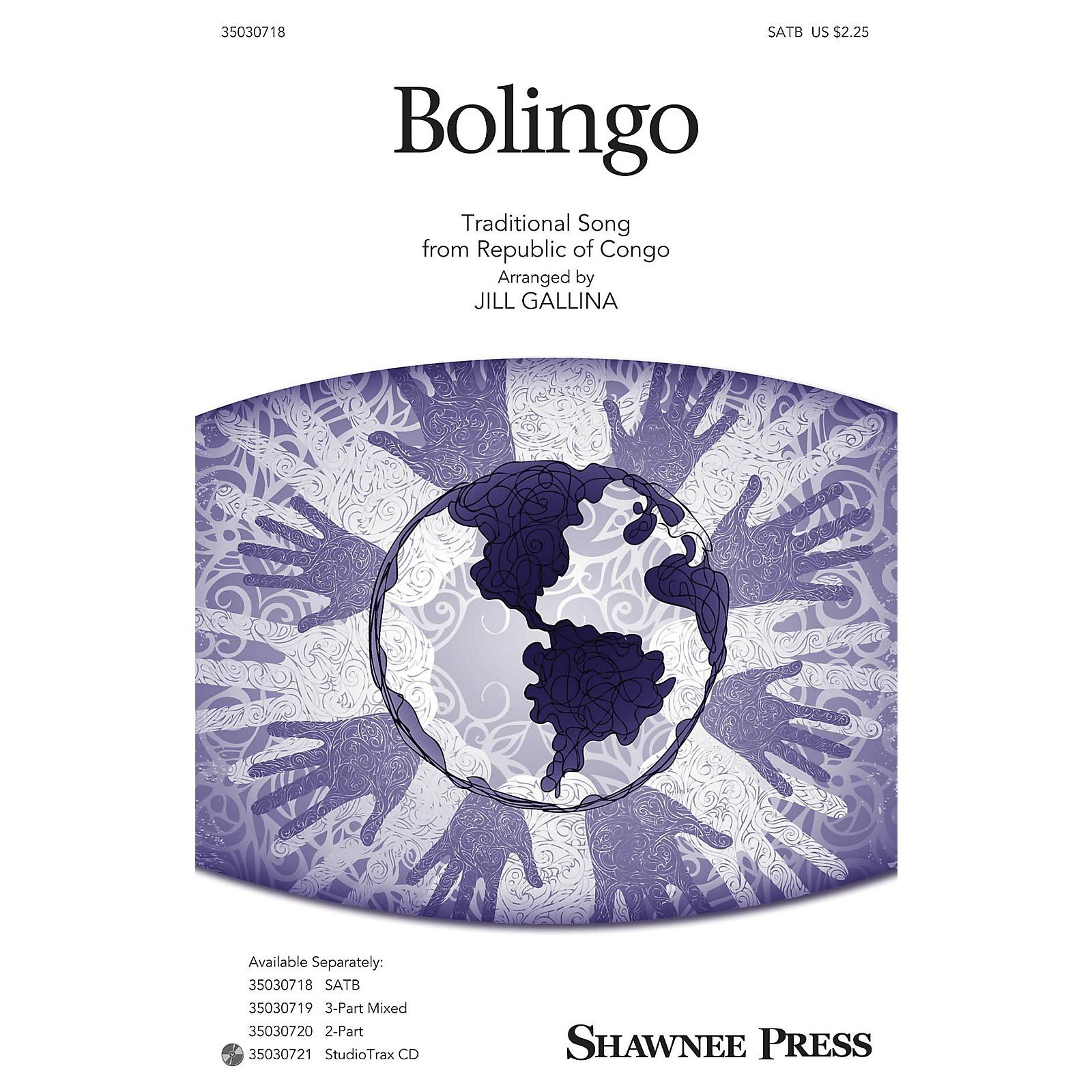 Shawnee Press Bolingo SATB arranged by Jill Gallina