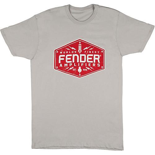 Fender Bolt Down T-Shirt - Silver