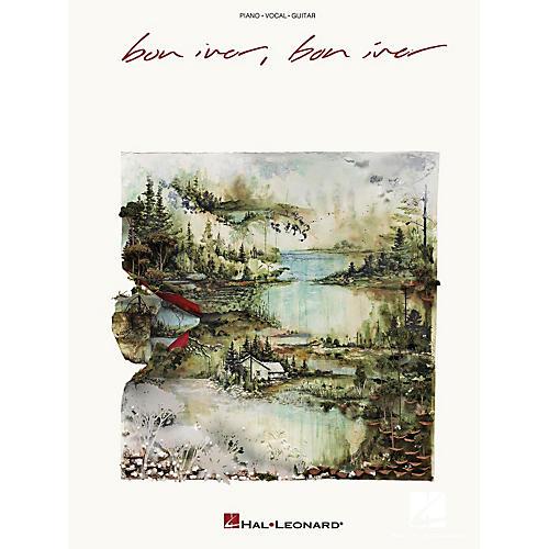 Hal Leonard Bon Iver - Bon Iver Piano/Vocal/Piano Songbook