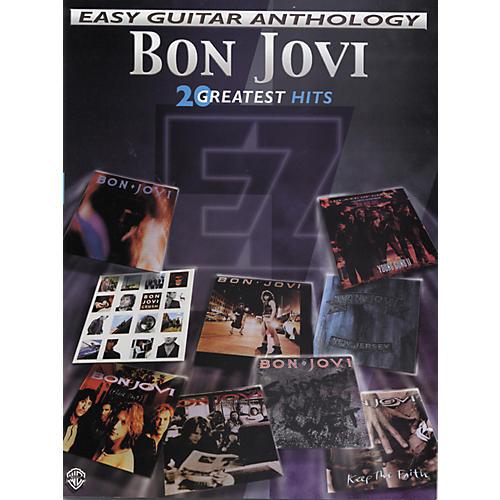 Alfred Bon Jovi Easy Guitar Anthology
