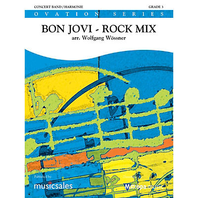 Mitropa Music Bon Jovi Rock Mix Concert Band Level 4 by Bon Jovi Arranged by Wolfgang Wössner