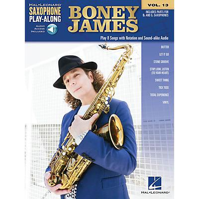 Hal Leonard Boney James Saxophone Play-Along Volume 13 Book/Audio Online