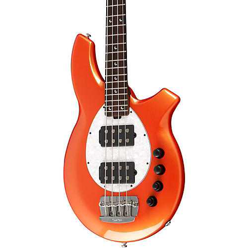 Ernie Ball Music Man Bongo HH Electric Bass Guitar with All Rosewood Neck