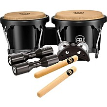 Meinl Bongo and Percussion Pack for Jam Sessions or Acoustic Sets