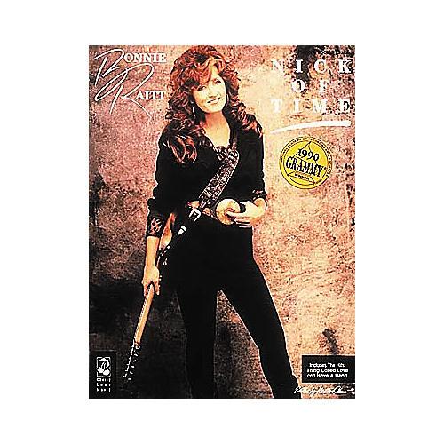 Cherry Lane Bonnie Raitt - Nick Of Time (Songbook)
