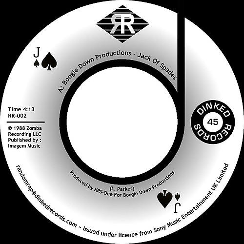 Alliance Boogie Down Productions - Jack Of Spades / Instrumental