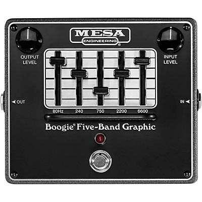 Mesa Boogie Boogie Five-Band Graphic Equalizer Pedal