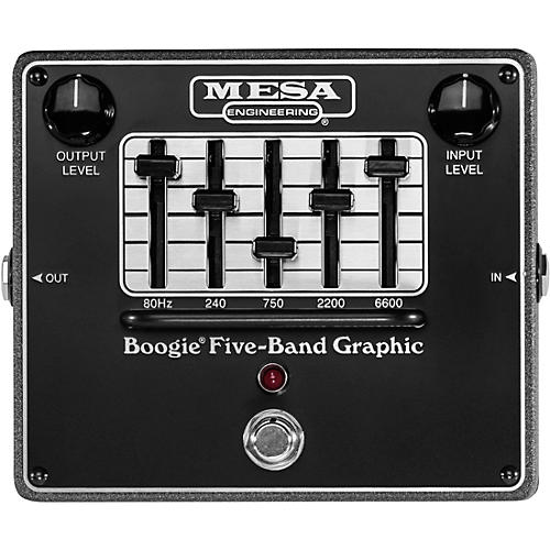 Mesa Boogie Boogie Five-Band Graphic Equalizer Pedal Black