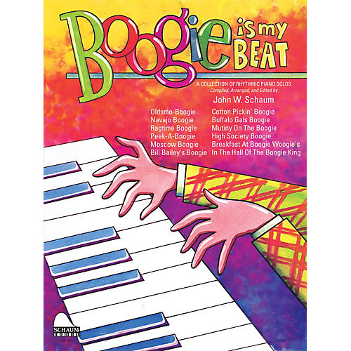 SCHAUM Boogie Is My Beat Educational Piano Series Softcover