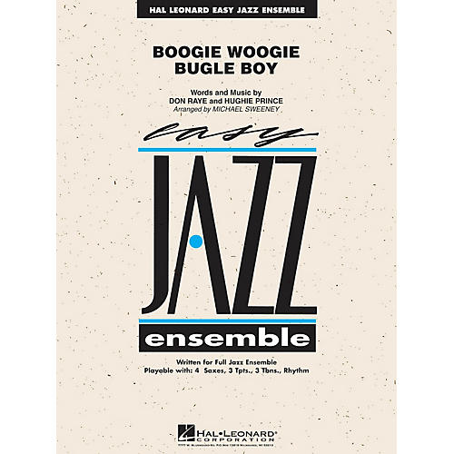 Hal Leonard Boogie Woogie Bugle Boy Jazz Band Level 2 Arranged by Michael Sweeney
