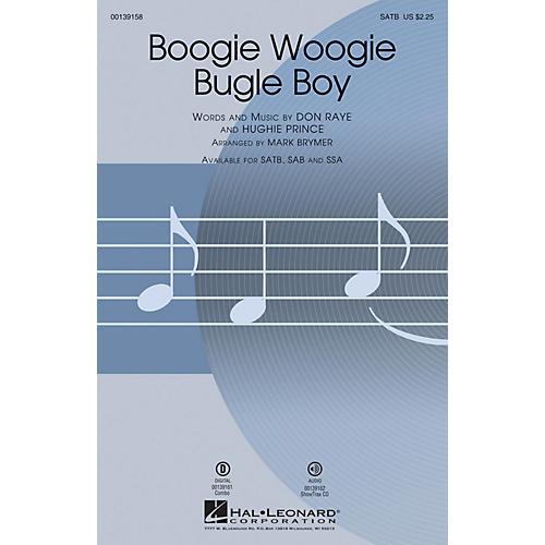 Hal Leonard Boogie Woogie Bugle Boy SSA by Bette Midler Arranged by Mark Brymer