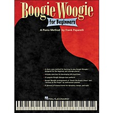 Hal Leonard Boogie Woogie for Beginners - A Piano Method By Frank Paparelli