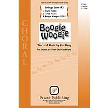 Pavane Boogie Woogie (from Solfege Suite #3) 2-Part composed by Ken Berg