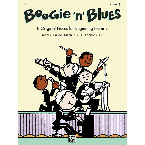 Alfred Boogie 'n' Blues Book 1 Piano
