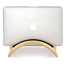 Twelve South BookArc möd for MacBook - Vertical - Hardwood - Birch