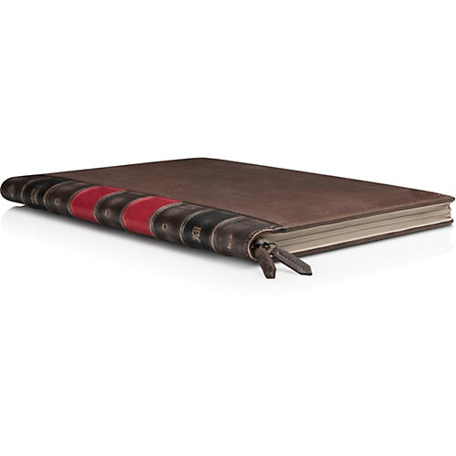 Twelve South BookBook Brown Hardback Leather Case For MacBook Air 13