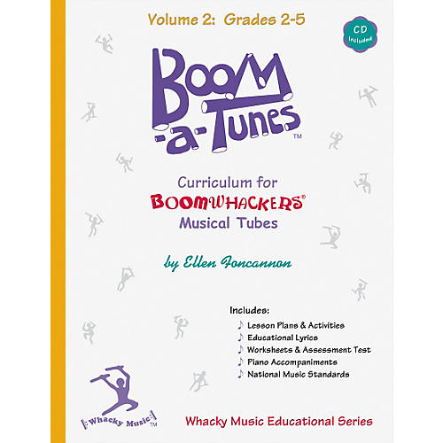 Boomwhackers Boom-A-Tunes Curriculum Volume 2 (Book/CD)