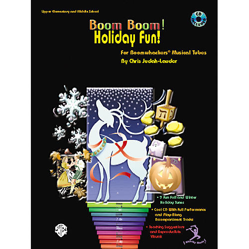 Alfred Boom Boom! Holiday Fun! Book with CD