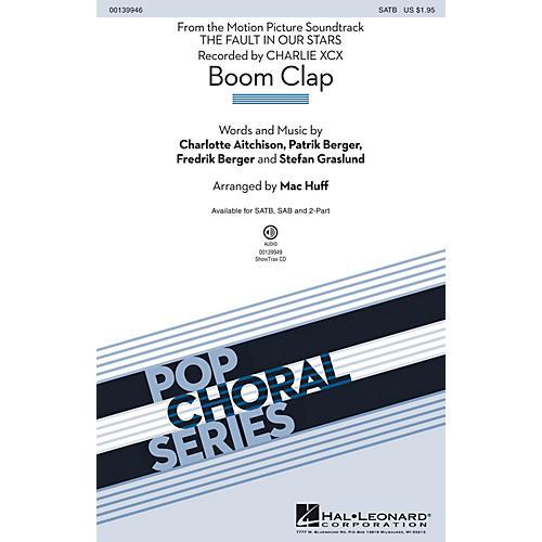 Hal Leonard Boom Clap SATB by Charli XCX arranged by Mac Huff