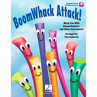 Hal Leonard BoomWhack Attack! Music Fun With Boomwhackers and Other Instruments Book/CD