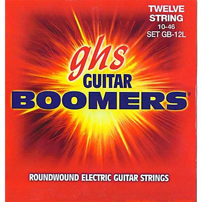 GHS Boomer 12 String Light Electric Guitar Set (10-46)