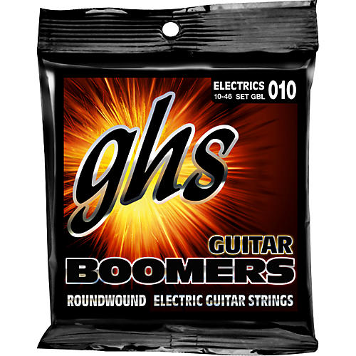 GHS Boomers GBL Light Electric Guitar Strings 3-Pack