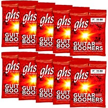 GHS Boomers Medium Electric Guitar Strings 10-Pack