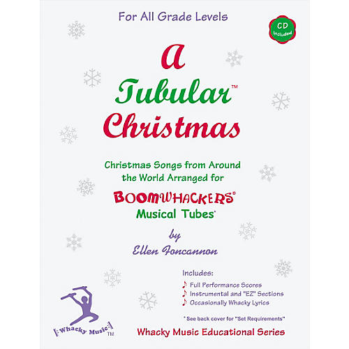 Boomwhackers Boomwhackers Tubes A Tubular Christmas Songbook with CD