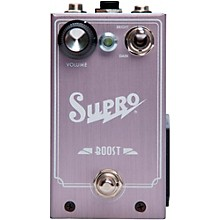 Open Box Supro Boost Guitar Effects Pedal