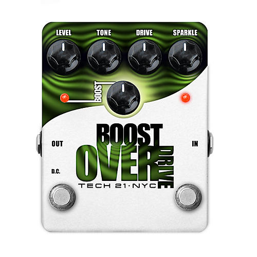 tech 21 boost overdrive analog overdrive guitar effects pedal musician 39 s friend. Black Bedroom Furniture Sets. Home Design Ideas
