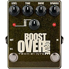 Open BoxTech 21 Boost Overdrive Effects Pedal