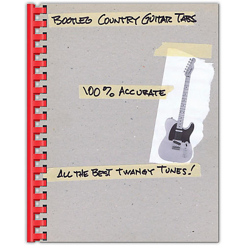 Hal Leonard Bootleg Country Guitar Tabs 100% Accurate - All the Best Twangy Tunes