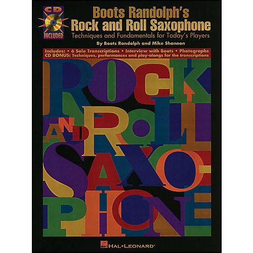 Hal Leonard Boots Randolphs Rock & Roll Saxophone Book/CD