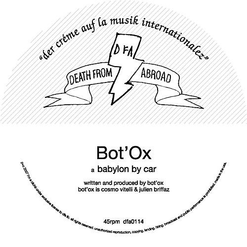 Alliance Bot'ox - Babylon By Car