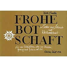 Schott Botschaft 4 Recorder Parts SATB