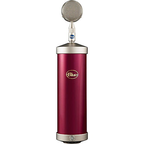 BLUE Bottle Microphone System in Special Edition Colors Raspberry Beret