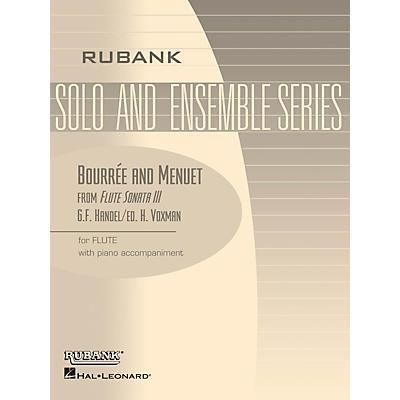 Rubank Publications Bourrée and Menuet (from Flute Sonata III) Rubank Solo/Ensemble Sheet Series