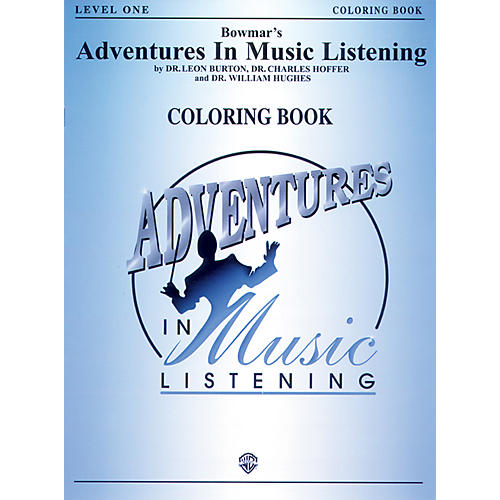 Alfred Bowmar's Adventures in Music Listening: Level 1 Coloring Book Grades K-2