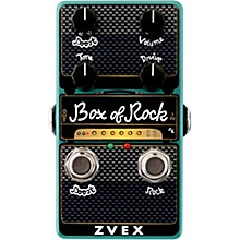 Open Box ZVex Box of Rock Vertical Overdrive Effects Pedal