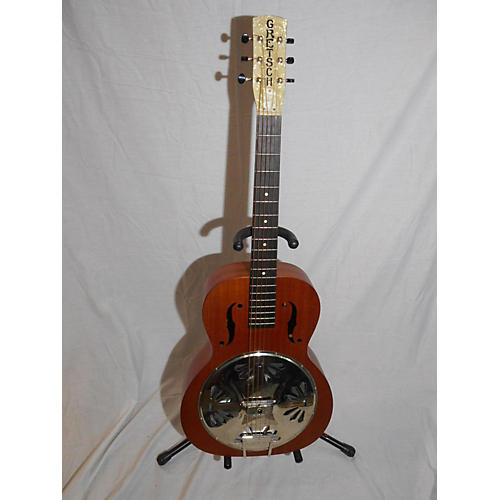 Gretsch Guitars Boxcar Round Neck Resonator Guitar Natural