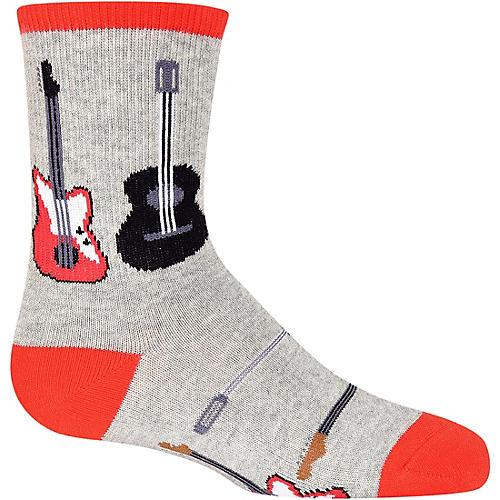K. Bell Boy's Guitars Sock