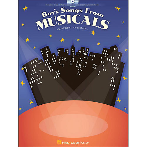 Hal Leonard Boy's Songs From Musicals Book/CD
