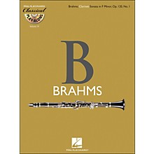 Hal Leonard Brahms: Clarinet Sonata In F Minor, Op.120, No.1 - Classical Play-Along (Book/CD) Vol.19
