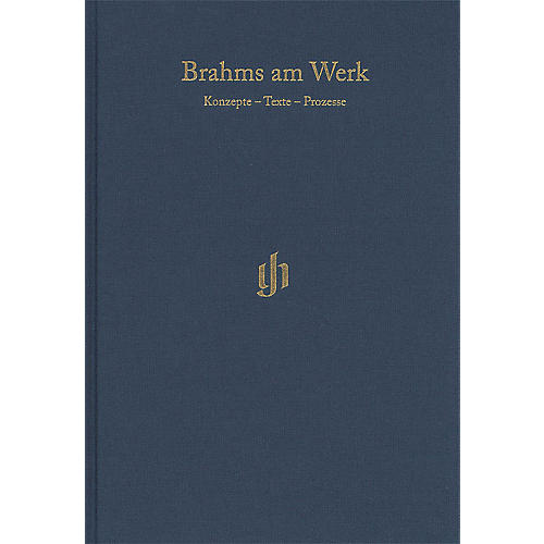 G. Henle Verlag Brahms am Werk Henle Edition Series Hardcover Edited by Michael Struck