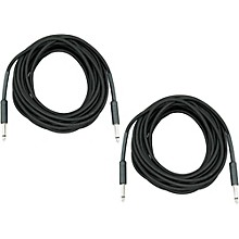 "Musician's Gear Braided Instrument Cable 1/4"", 30 Ft. 2-Pack"