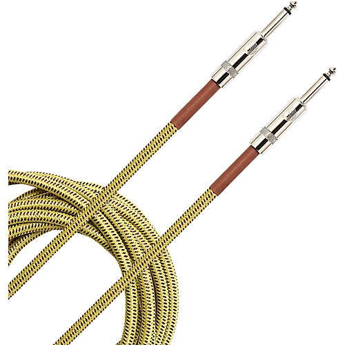 D'Addario Planet Waves Braided Instrument Cable 10 ft. Tweed