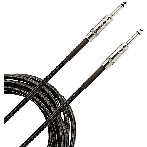 D'Addario Planet Waves Braided Instrument Cable 15 ft. Black