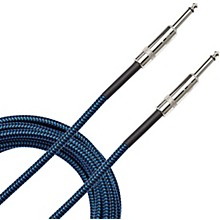 Braided Instrument Cable 15 ft. Blue