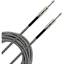 Braided Instrument Cable 15 ft. Gray