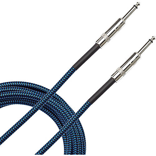 D'Addario Planet Waves Braided Instrument Cable 20 ft. Blue
